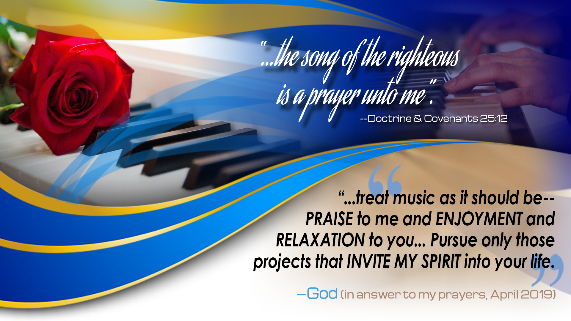 The Song of the Righteous…